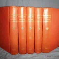 Libros antiguos: CATALANA REVISTA SETMANAL - AÑOS 1918-1921 - 5 TOMOS. ILLUSTRACIÓ CATALANA.. Lote 39666369