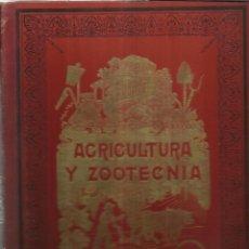 Libros antiguos - AGRICULTURA Y ZOOTECNIA. JOAQUÍN RIBERA. JUAN ROMÁ EDIT. TOMO IV. BARCELONA. MUY ANTIGUO - 69868306