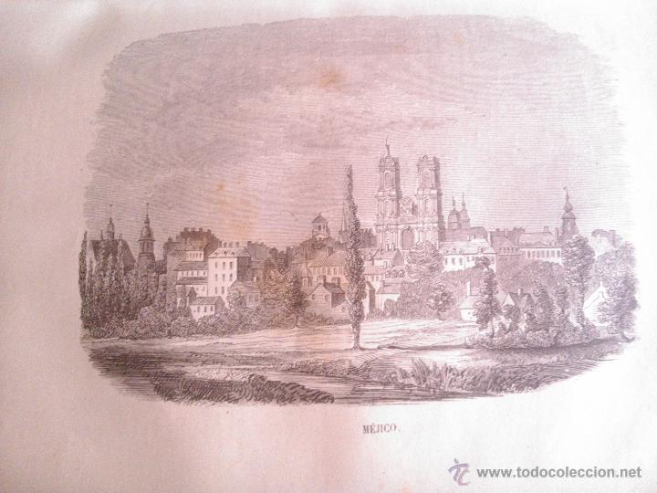 Libros antiguos: LOS HEROES Y LAS MARAVILLAS DEL MUNDO, VARIOS AUTORES 1856 - Foto 3 - 39746230