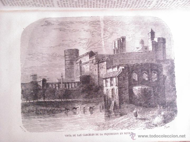 Libros antiguos: LOS HEROES Y LAS MARAVILLAS DEL MUNDO, VARIOS AUTORES 1856 - Foto 4 - 39746230