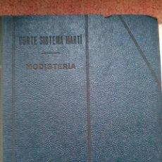 Libros antiguos: SISTEMA MARTI MODISTERIA 1957. Lote 39790228