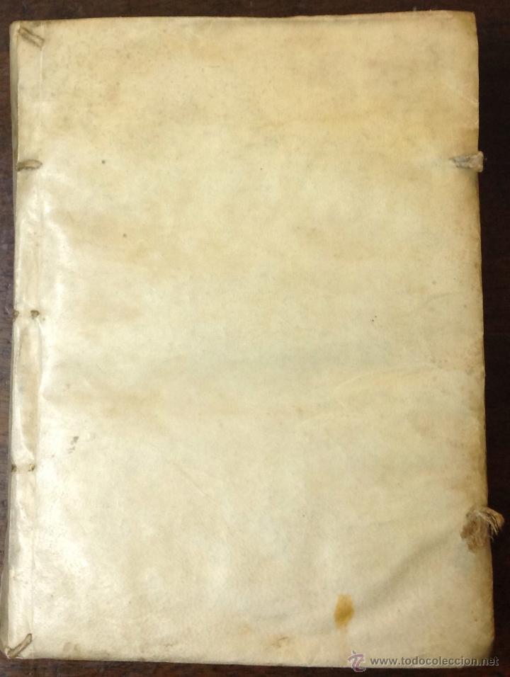 Libros antiguos: PETRI LEURENII. TRACTATUS QUATERNARIUS DE EPISCOPORUM VICARIIS.... VENETIIS, 1709. Enc. en pergamino - Foto 5 - 39824811