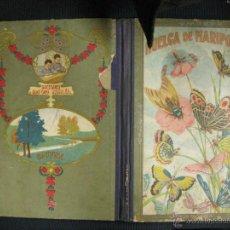 Libros antiguos: HUELGA DE MARIPOSAS.UN POETA. MANUEL MARINE-LO.DIBUJOS RICARDO OPISSO.SUCESORES BLAS CAMI.BARCELONA.. Lote 39825657