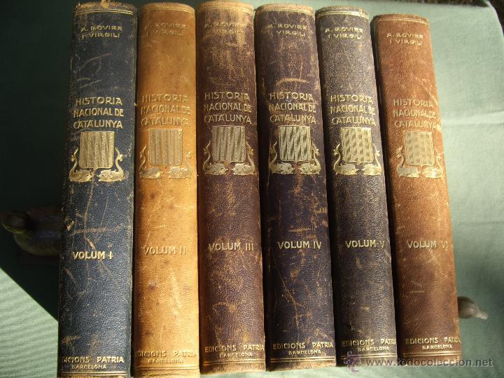 Libros antiguos: HISTORIA NACIONAL DE CATALUNYA, ROVIRA I VIRGILI 7 VOLS. ED.PÀTRIA 1922-1934 - Foto 16 - 39840075