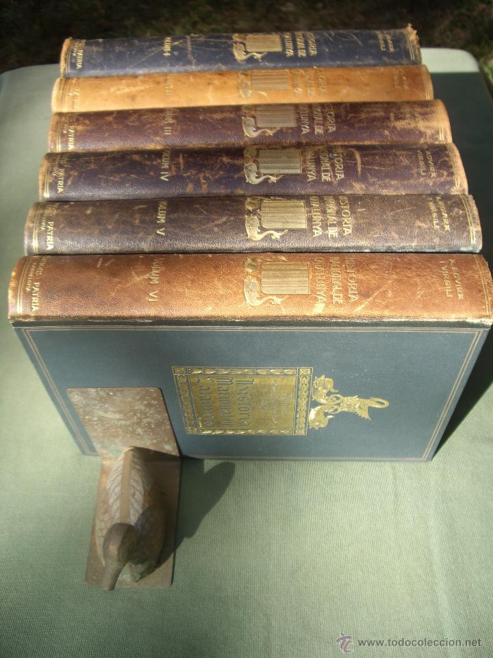 Libros antiguos: HISTORIA NACIONAL DE CATALUNYA, ROVIRA I VIRGILI 7 VOLS. ED.PÀTRIA 1922-1934 - Foto 17 - 39840075