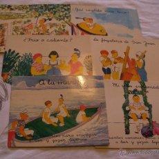 Libros antiguos: GRAN LOTE DE CUENTOS CANARIOS PARA EMPEZAR A LEER Y GOZAR LEYENDO - ENVIO GRATIS A ESPAÑA . Lote 39902449