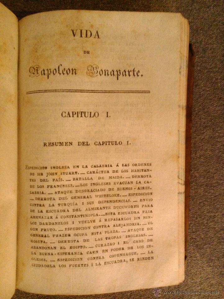 Libros antiguos: VIDA DE NAPOLEON BONAPARTE, SIR WALTER SCOTH 1830 (9VOL) - Foto 4 - 39896063