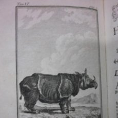 Libros antiguos: HISTOIRE NATURELLE DES QUADRUPEDES, 1792, LE COMTE DE BUFFON. Lote 40046666