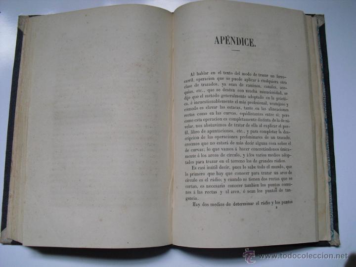 Libros antiguos: 1859 TRATADO PRACTICO DE NIVELACION D. VENANCIO DE LA TEJERA LÁMINAS ÚNICO 1ª EDICIÓN - Foto 4 - 39955104