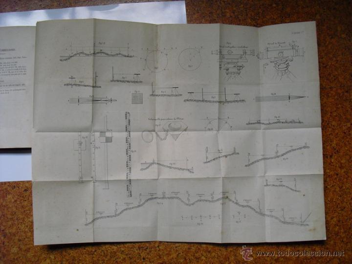 Libros antiguos: 1859 TRATADO PRACTICO DE NIVELACION D. VENANCIO DE LA TEJERA LÁMINAS ÚNICO 1ª EDICIÓN - Foto 5 - 39955104