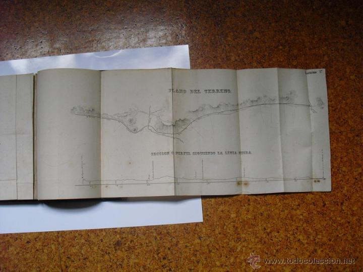 Libros antiguos: 1859 TRATADO PRACTICO DE NIVELACION D. VENANCIO DE LA TEJERA LÁMINAS ÚNICO 1ª EDICIÓN - Foto 6 - 39955104