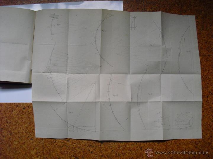 Libros antiguos: 1859 TRATADO PRACTICO DE NIVELACION D. VENANCIO DE LA TEJERA LÁMINAS ÚNICO 1ª EDICIÓN - Foto 9 - 39955104