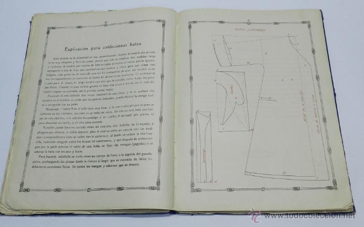 Libros antiguos: TEORIA Y PRACTICA DEL CORTE . NUEVO METODO SISTEMA FERRER, COMPLETO, EXACTO Y SENCILLO POR MARIA DEL - Foto 3 - 39981434