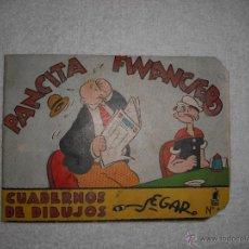 Libros antiguos: CUADERNOS DE DIBUJO SEGAR Nº 29 PANCITA FINANCIERO POPEYE ED.MOLINO. Lote 39990330