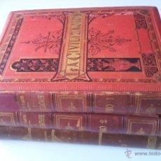 Libros antiguos: LA CIVILIZACIÓN. 3 TOMOS. PELEGRÍN CASABÓ Y PAGÉS. MIR, TARRADAS, COMAS Y CÍA. 1881-82. Lote 40005799