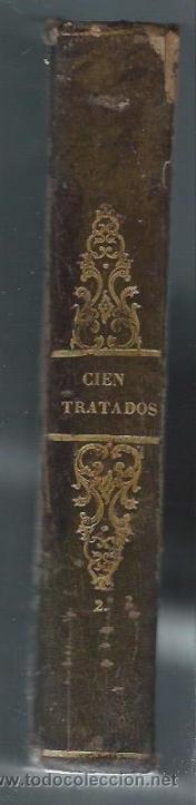 Libros antiguos: INSTRUCCIÓN PARA EL PUEBLO, CIEN TRATADOS, MELLADO EDITOR, MADRID, ENC HOLANDESA LOMO EN PIEL - Foto 3 - 40018460