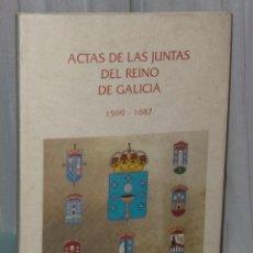 Libri antichi: ACTAS DE LAS JUNTAS DEL REINO DE GALICIA 1599 - 1647. 5 CD ROM (VOLUMEN I, TEXTOS DIGITALIZADOS). Lote 39943076