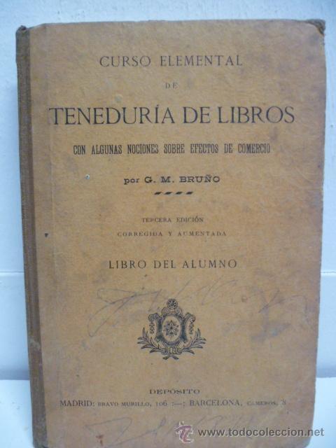TENEDURIA DE LIBROS - 1920 (Libros Antiguos, Raros y Curiosos - Ciencias, Manuales y Oficios - Otros)
