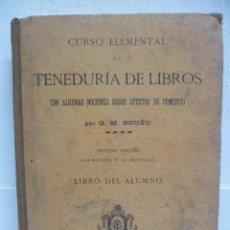 Libros antiguos: TENEDURIA DE LIBROS - 1920. Lote 40050416