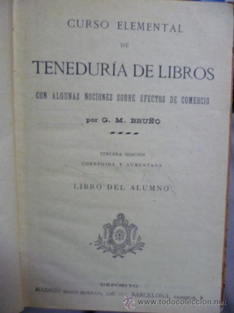 Libros antiguos: TENEDURIA DE LIBROS - 1920 - Foto 3 - 40050416