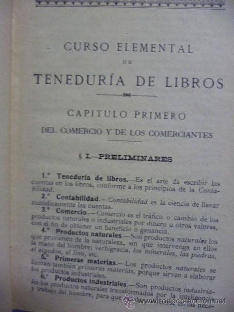 Libros antiguos: TENEDURIA DE LIBROS - 1920 - Foto 5 - 40050416
