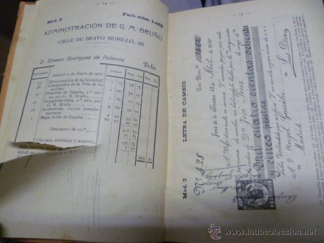 Libros antiguos: TENEDURIA DE LIBROS - 1920 - Foto 6 - 40050416