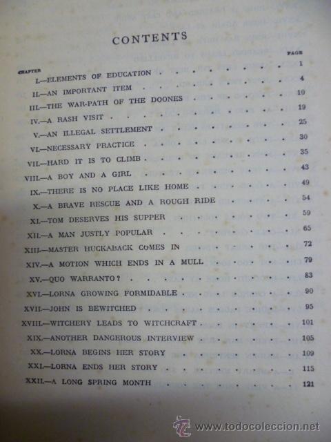 Libros antiguos: Lorna Doome, R.D Blackmore (en ingles) - Foto 7 - 40051058