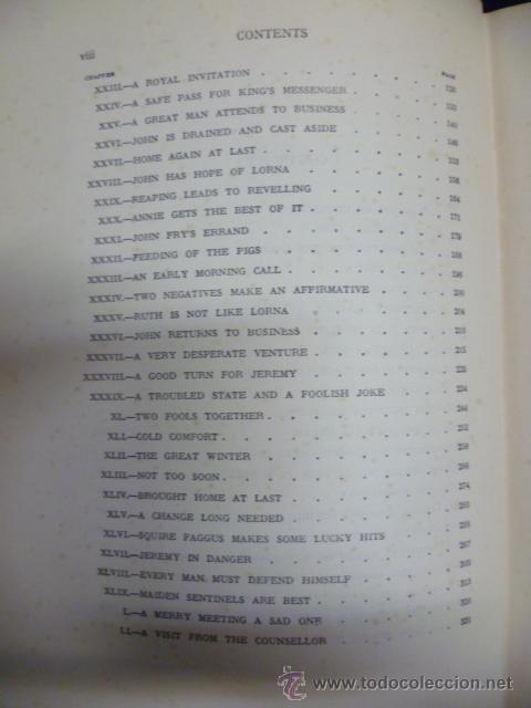 Libros antiguos: Lorna Doome, R.D Blackmore (en ingles) - Foto 8 - 40051058