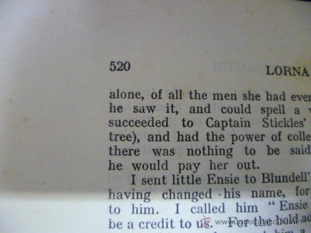 Libros antiguos: Lorna Doome, R.D Blackmore (en ingles) - Foto 13 - 40051058