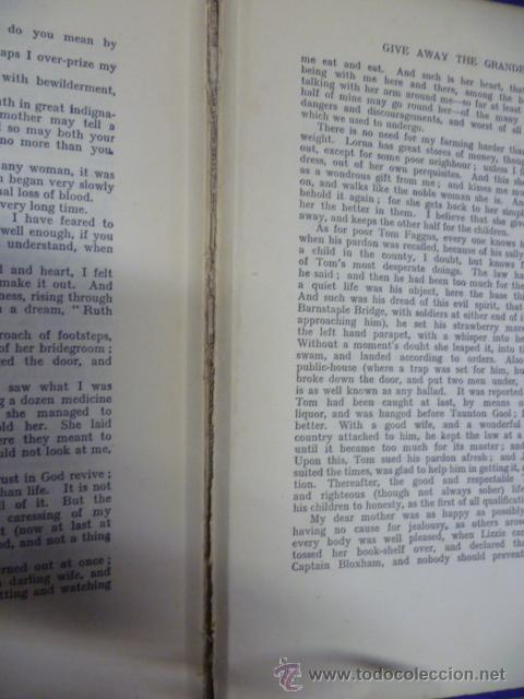 Libros antiguos: Lorna Doome, R.D Blackmore (en ingles) - Foto 14 - 40051058