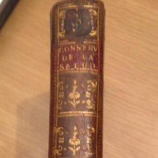 Libros antiguos: TRATADO DE CONSERVACIÓN DE LA SALUD DE LOS PUEBLOS Y CONSIDERACIONES SOBRE TERREMOTOS. MADRID 1781.. Lote 40073990