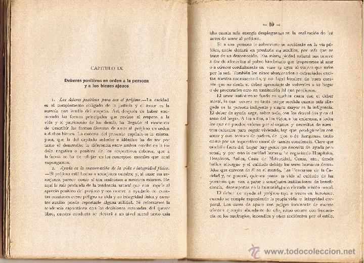 Libros antiguos: LOS DEBERES DEL HOMBRE - JOAQUIN CARRERAS ARTAU - 1935 - LIBRERIA BOSCH - - Foto 3 - 40084623