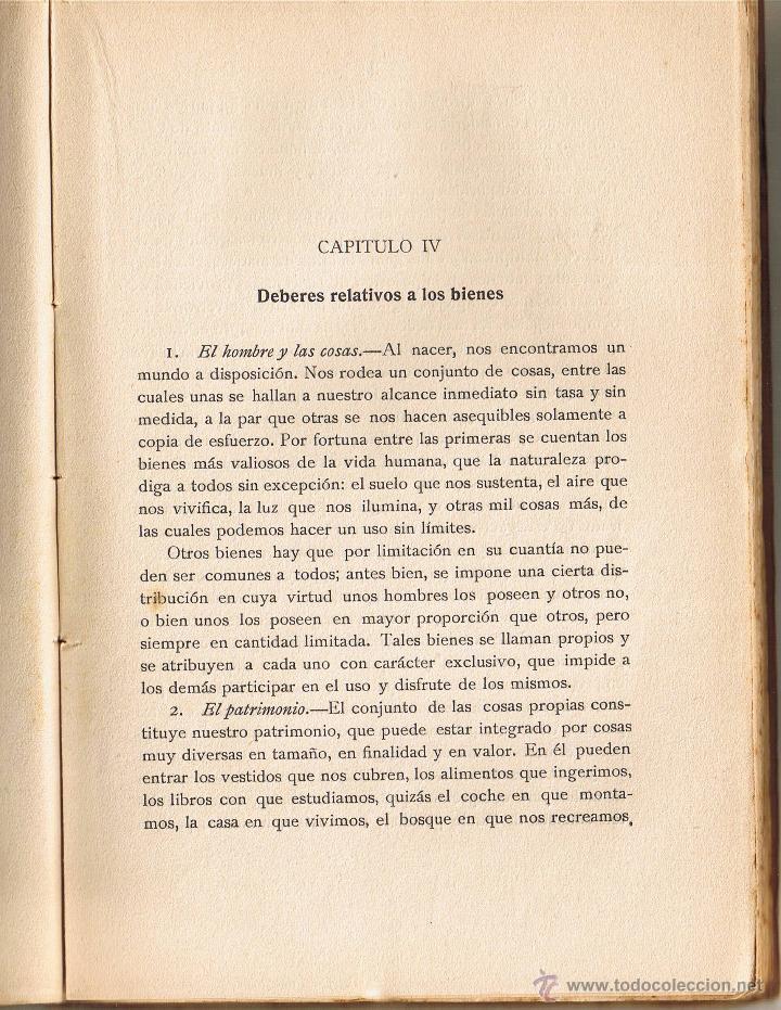 Libros antiguos: LOS DEBERES DEL HOMBRE - JOAQUIN CARRERAS ARTAU - 1935 - LIBRERIA BOSCH - - Foto 4 - 40084623