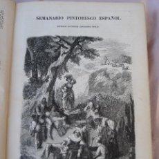 Libros antiguos: SEMANARIO PINTORESCO ESPAÑOL - LECTURA DE LAS FAMILIAS - ENCICLOPEDIA POPULAR - TOMO 19 - AÑO 1854.. Lote 40152999