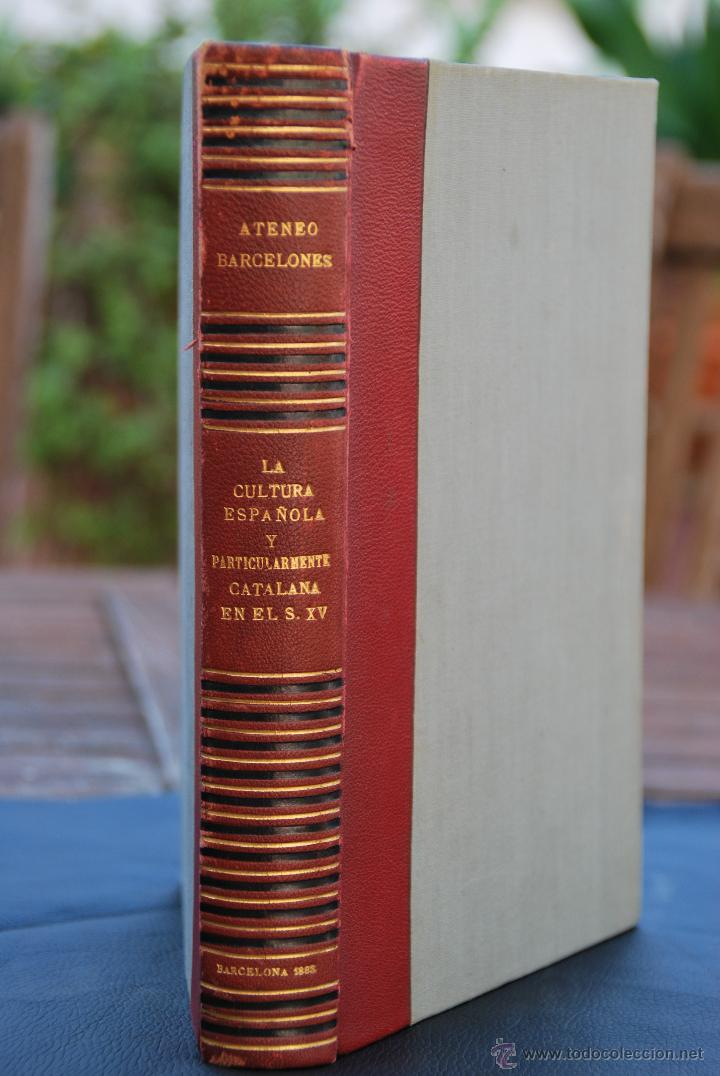CONFERENCIAS ATENEO BARCELONES - BARCELONA 1893 - (Libros Antiguos, Raros y Curiosos - Historia - Otros)