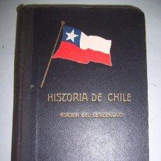 Libros antiguos: VALDES VERGARA, FRANCISCO. HISTORIA DE CHILE : PARA LA ENSEÑANZA PRIMARIA. Lote 40172931