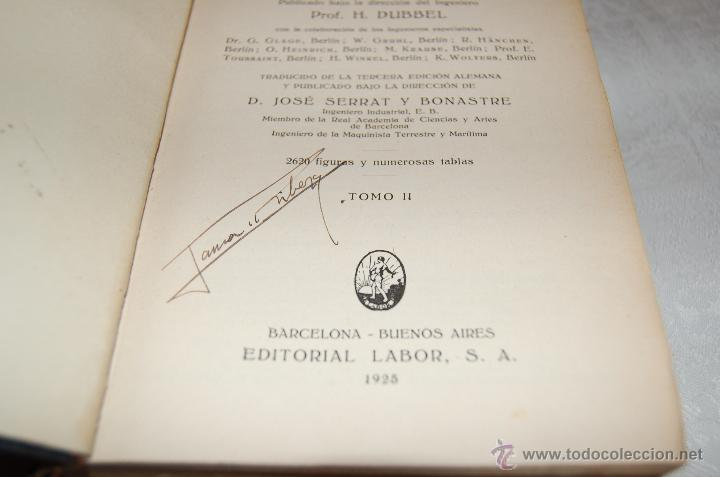 Libros antiguos: MANUAL DEL CONSTRUCTOR DE MÁQUINAS I - II - Foto 4 - 40206603