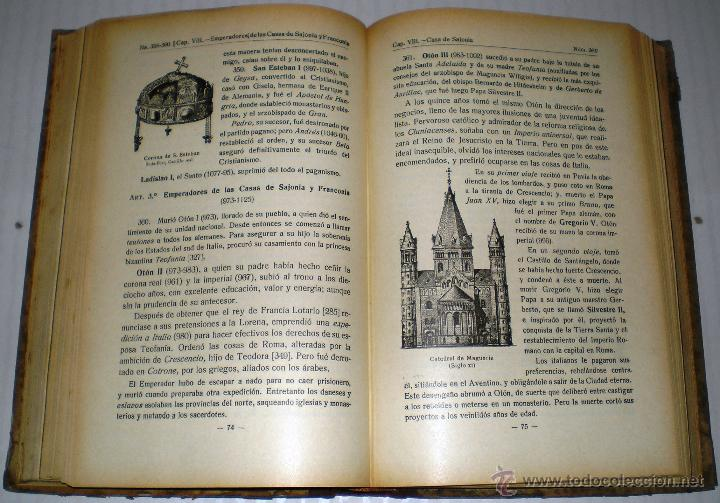 Libros antiguos: RAMÓN RUIZ AMADO: COMPENDIO DE HISTORIA UNIVERSAL - 1925. - Foto 2 - 40231810