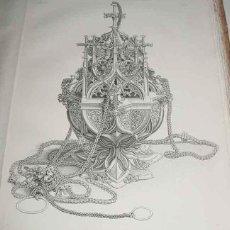 Libros antiguos: LA ORNAMENTACION EN LA EDAD MEDIA . COLECCION DE ORNAMENTOS - CHARLES HEIDELOFF . 1846 . III VOLUMEN. Lote 56387466