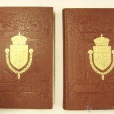Libros antiguos: 1925 - REGENCIA - ALFONSO XIII - 2 TOMOS CON LAMINAS - CLASICO DE REFERENCIA - MAURA GAMAZO. Lote 40263462