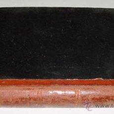 Libros antiguos: ANTIGUO LIBRO TRATADO MANUSCRITO A MANO DE TAQUIGRAFIA - (ES EL ARTE DE SEGUIR LA PALABRA CON TODA. Lote 38265714