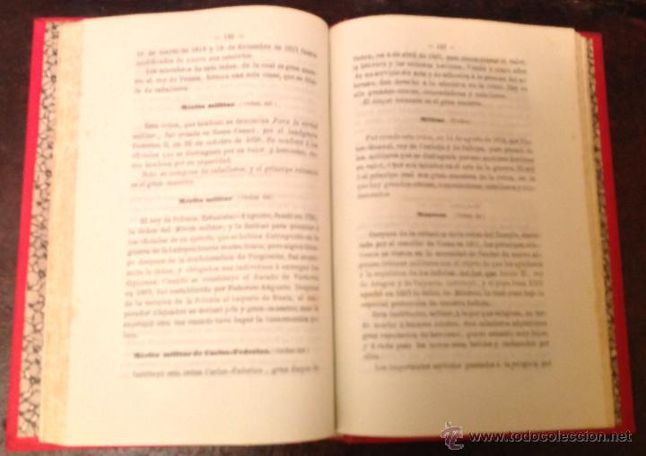 Libros antiguos: Bruno Rigalt. 1856. Dic. Historico de las ordenes de caballeria, religiosas, civiles, militares, - Foto 2 - 40295509