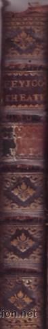 FEYJOO, FR. BENITO GERONYMO: THEATRO CRITICO UNIVERSAL. TOMO VII, NUEVA IMPRESION. 1769. PLENA PIEL (Libros Antiguos, Raros y Curiosos - Pensamiento - Otros)