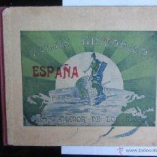 Libros antiguos: ATLAS HISTÓRICO J.F.AMADOR DE LOS RÍOS. FALTA UNA LÁMINA. Lote 40305461