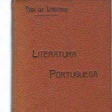 Libros antiguos: TODAS LAS LITERATURAS, LITERATURA PORTUGUESA, MADRID, LA ESPAÑA EDITORIAL, 140 PÁGS, 19X13CM. Lote 45014370