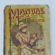Libros antiguos: MANUAL DE LA COCINERA, SATURNINO CALLEJA - 1876 - CARTONE ILUSTRADO, BIBLIOTECA POPULAR, MIDE 12 X . Lote 40349726