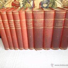 Libros antiguos: LAS LUCHAS FRATICIDAS DE ESPAÑA.-(EN 10TOMOS OBRA COMPLETA.).-DANVILA Y BURGUERO (ALFONSO). Lote 40423412
