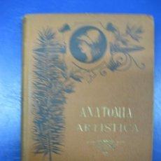 Libros antiguos: ANATOMIA ARTISTICA.MATHIAS DUVAL.LUIS MARCO.MADRID LA ESPAÑA ED.1890. Lote 40451427