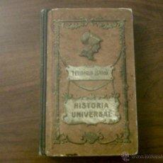 Libros antiguos: COMPENDIO DE LA HISTORIA UNIVERSAL-TEODORO BARÓ-EDITORIAL ANTONIO J.BASTINOS 1907-376 PÁGINAS. Lote 40547673