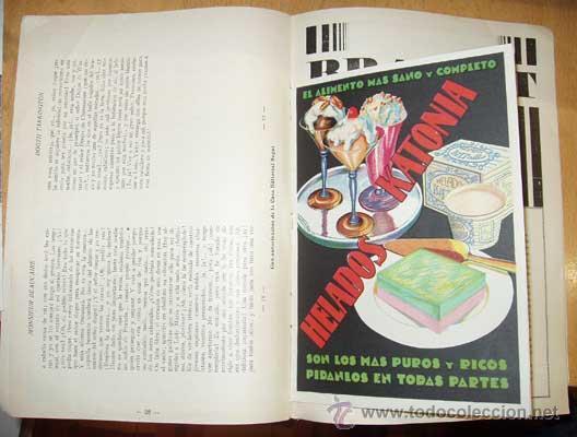 Libros antiguos: MENAJE - MENAGE (Revista del Arte de la Cocina y Pasteleria Modernas) PRIMER AÑO COMPLETO 1931 - Foto 12 - 40562159
